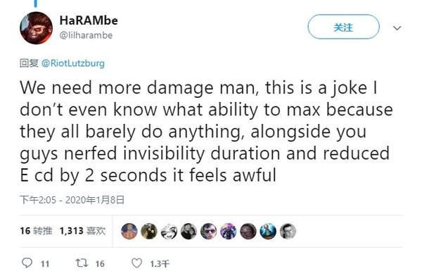 玩家热议猴子伤害太低 设计师:足够强了